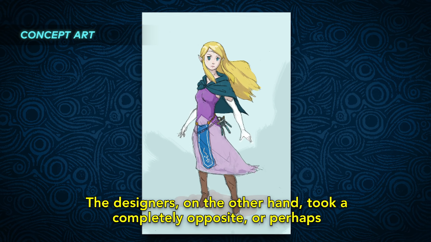 At First, Nintendo Couldn't Agree On How To Depict Zelda In