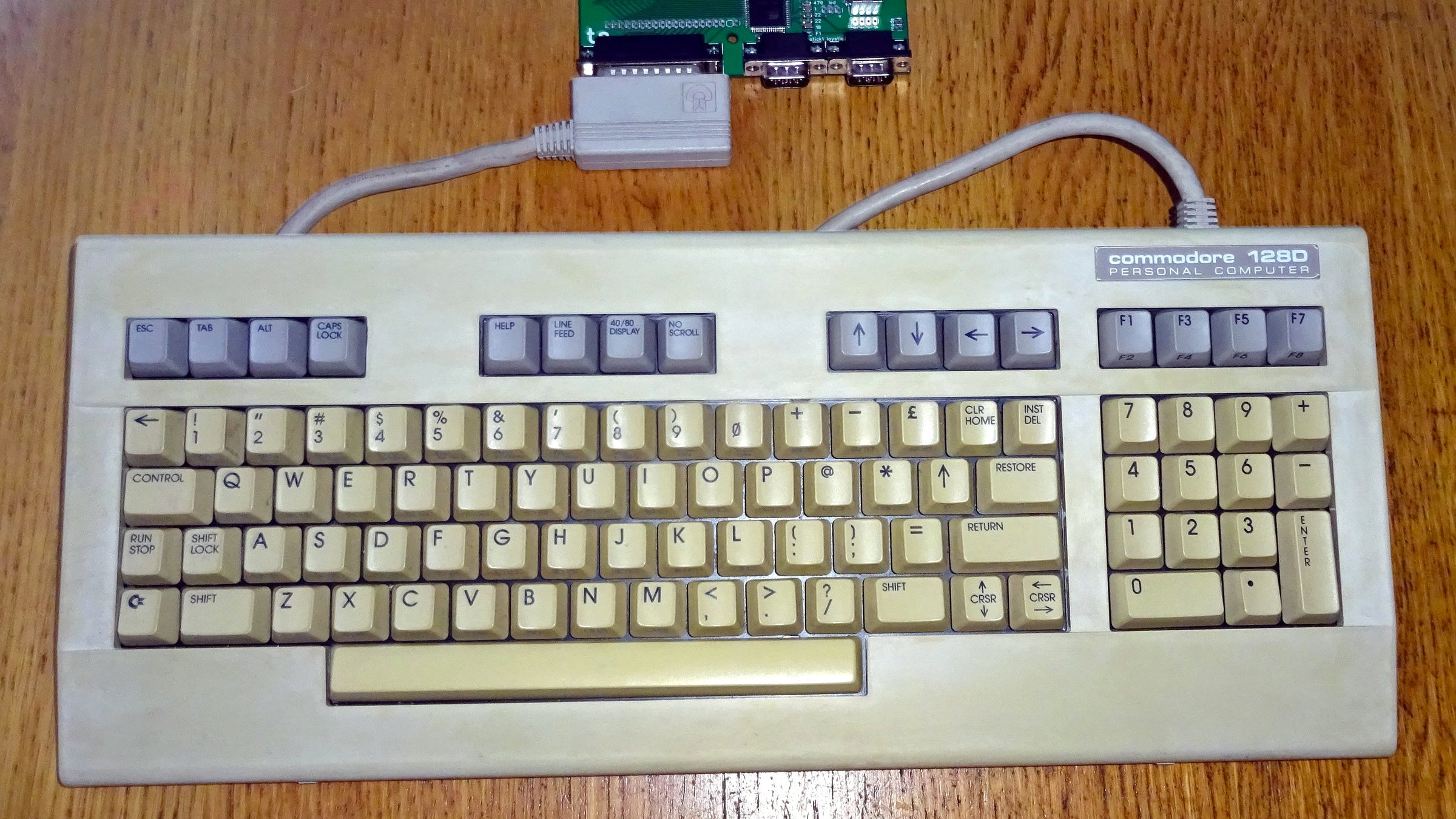 Turn Your Old Commodore Computer Into A USB Keyboard With This Easy To Install Adaptor
