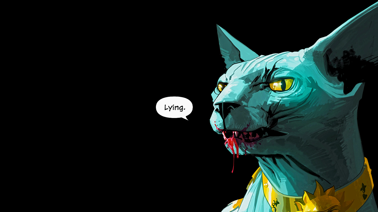 Saga S Lying Cat Is The Official Mascot Of 2017 Kotaku