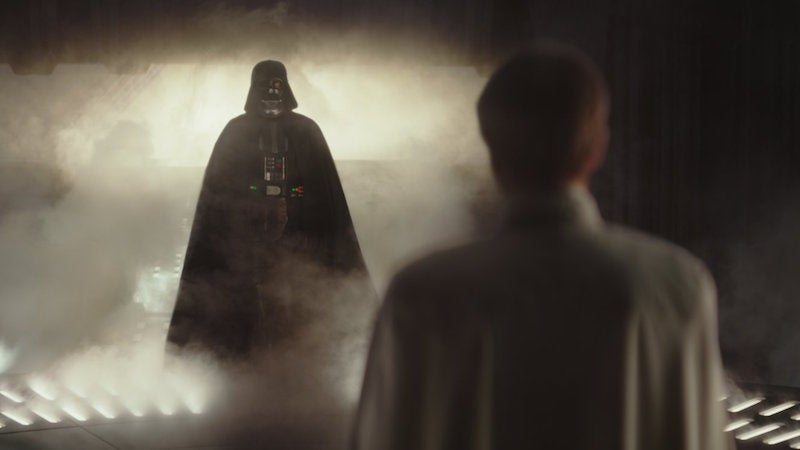 Darth Vader's Big Rogue One Scene Barely Made It Into The Film