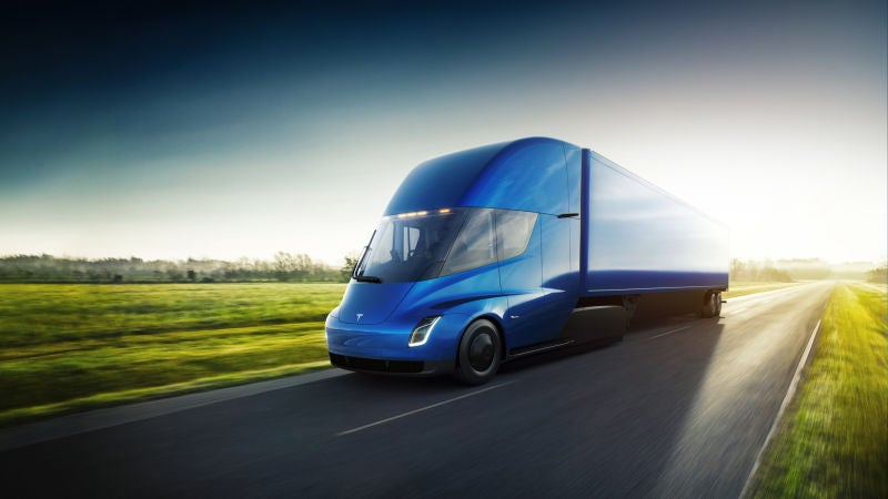 Tesla receives orders from four companies for electric truck