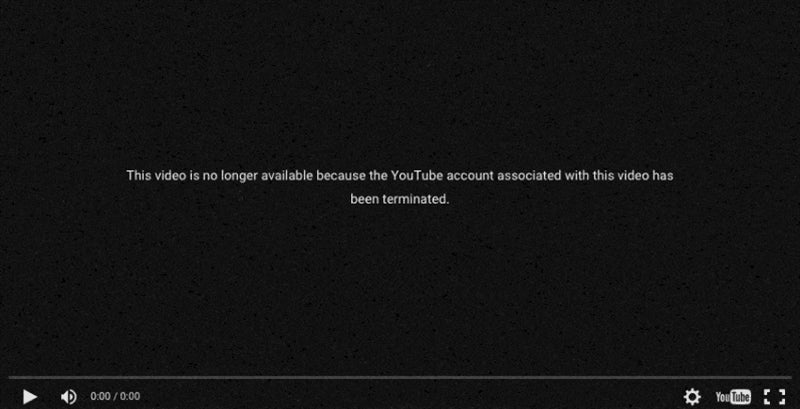 YouTube Bans Another Game Channel For Mysterious Reasons (UPDATE)