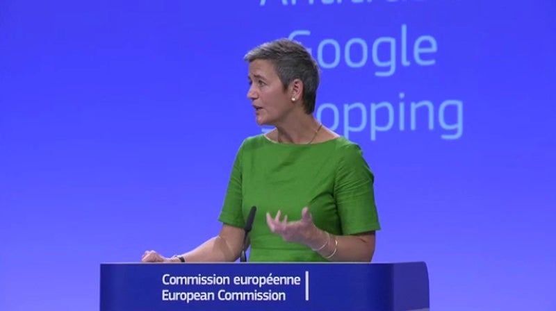 Google Slapped With Record $3.6 Billion Fine In Europe For Manipulating Shopping Results