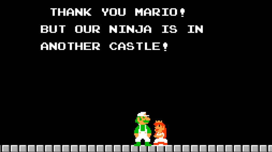 Twitch Uses Mario Reference To Let Viewers Know Ninja Left