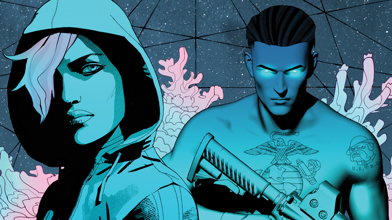 An Look Inside Comixology's Surprise New Biopunk Thriller, The Dark