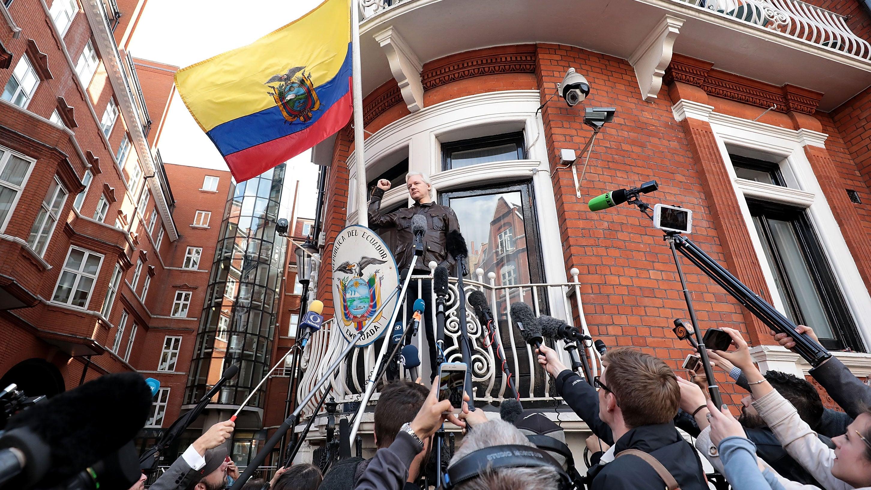 What Is Julian Assange Doing?