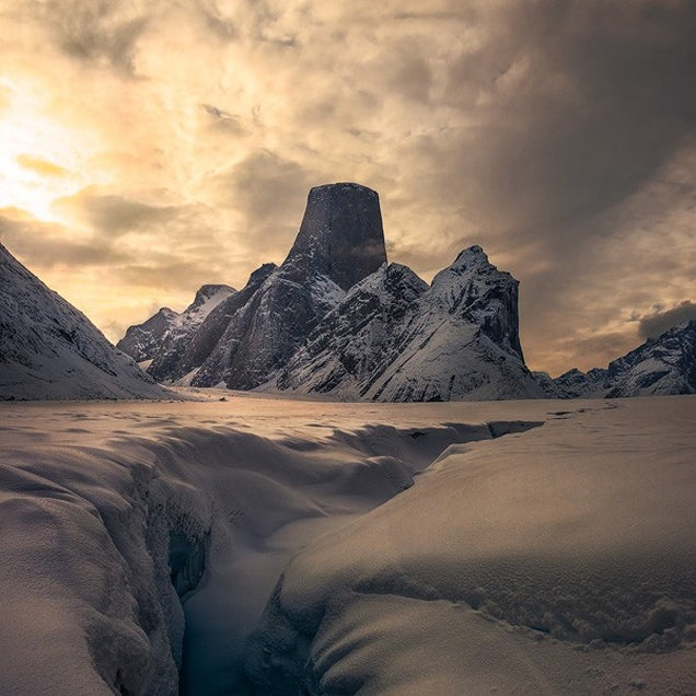 Mt. Asgard looks like the actual home of the Viking gods