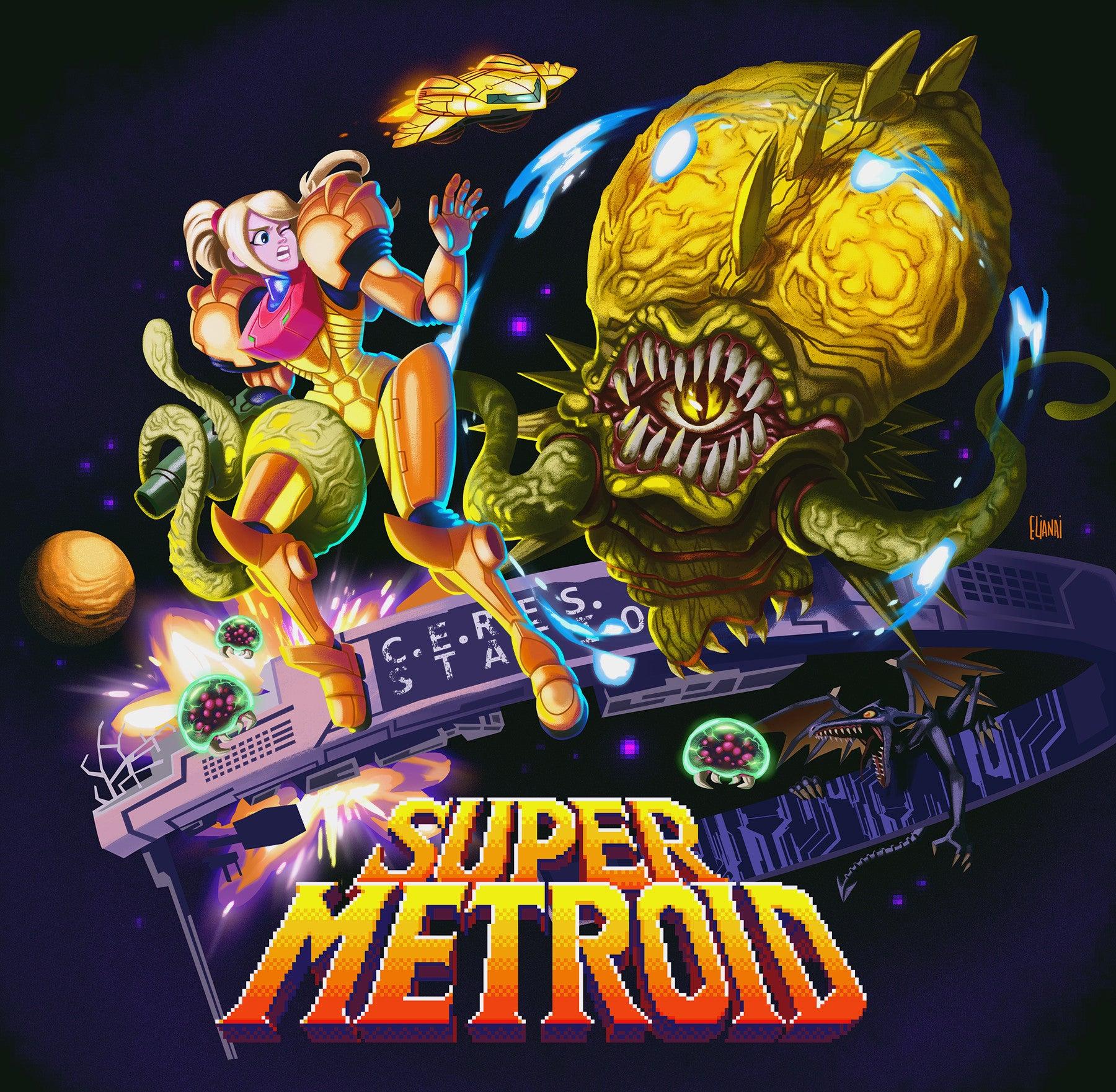 Super Metroid As a 90s Saturday Morning Cartoon