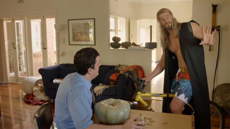 Thor Continues Being A Terrible Roommate In The First Look At Team Thor, Part 2