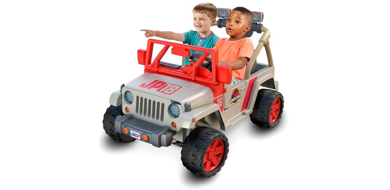 I Hope 'Ages Five And Up' On This Jurassic Park Power Wheels Jeep Includes Middle-Aged Bloggers