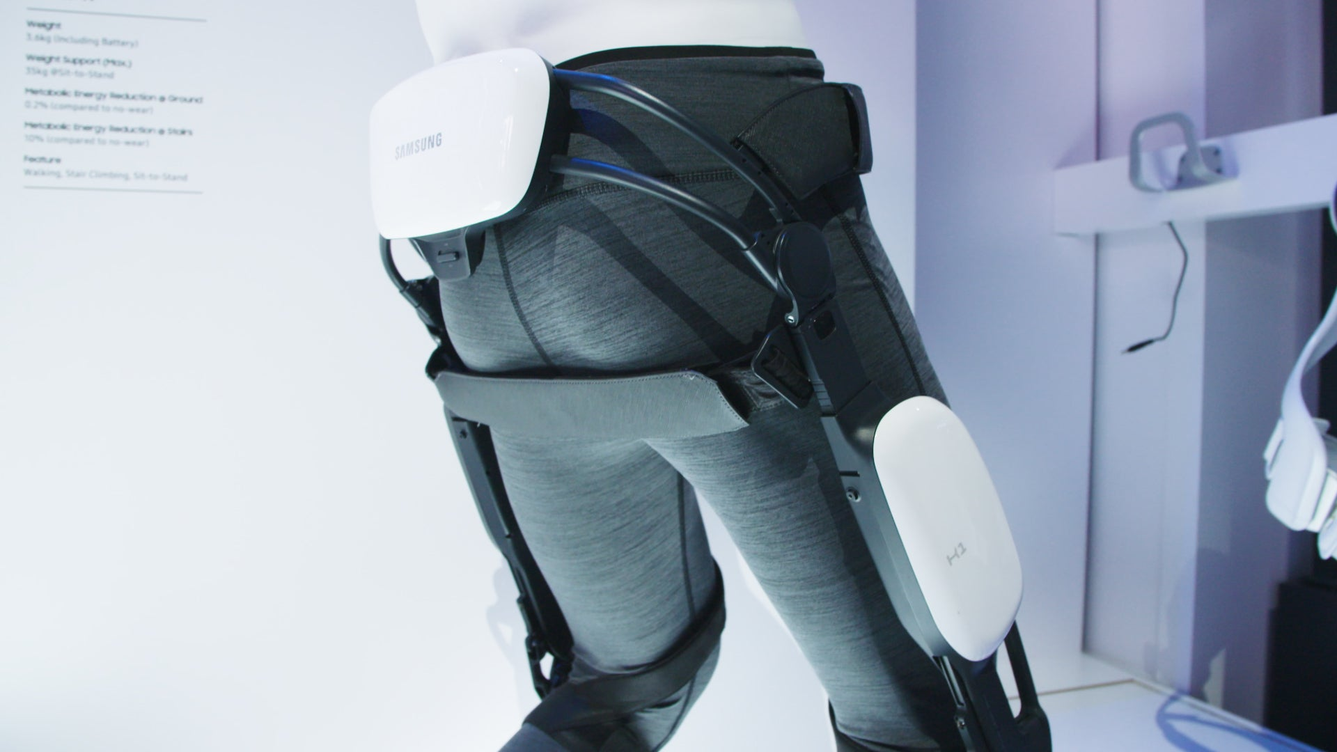 Samsung Let Me Wear An Exoskeleton, And I Liked It