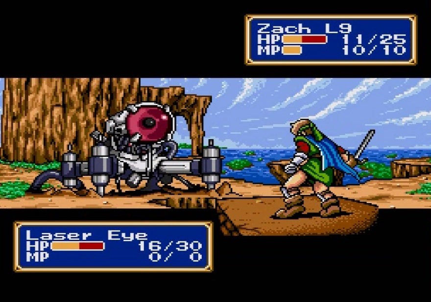 Shining Force's Brilliant Use Of Geography And Tactics In The Battle Against The Laser Eye