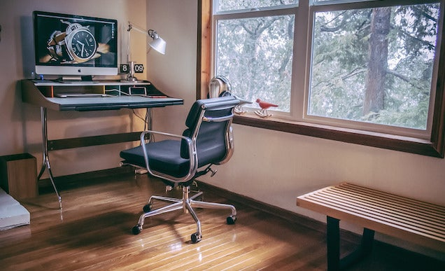 The Mid-Century Modern Workspace