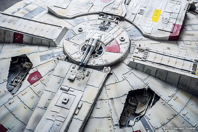 Millennium Falcon Papercraft Is A Work Of Art
