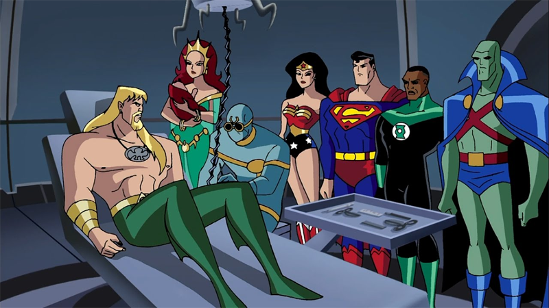 Cartoon Characters Justice League : The most essential episodes of justice league and