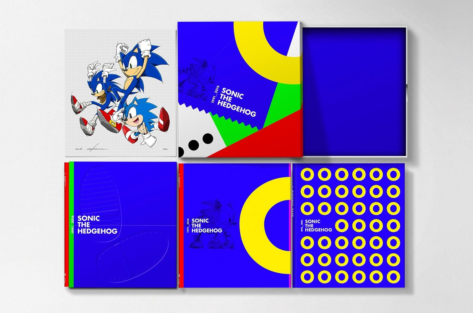 Look At This 150 Sonic The Hedgehog Art Book