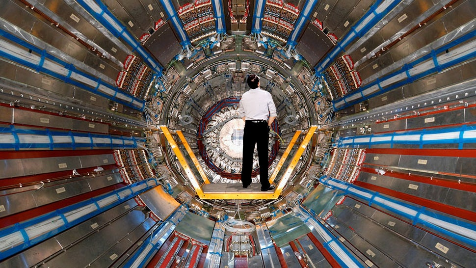 What Would Happen If You Peed Into a Particle Accelerator?
