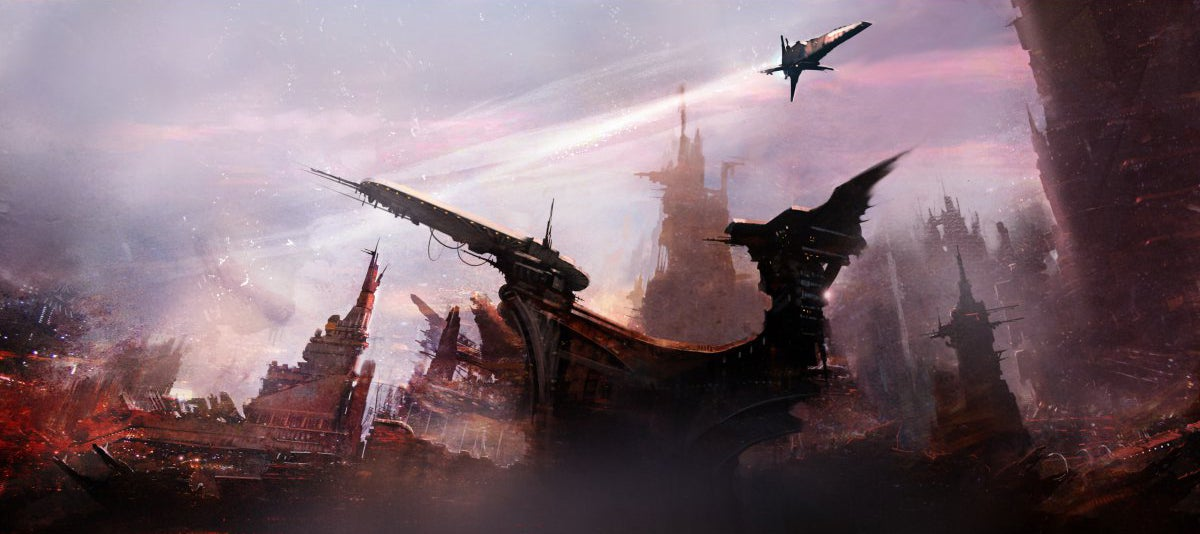 The spaceships and alien worlds of Thomas Pringle