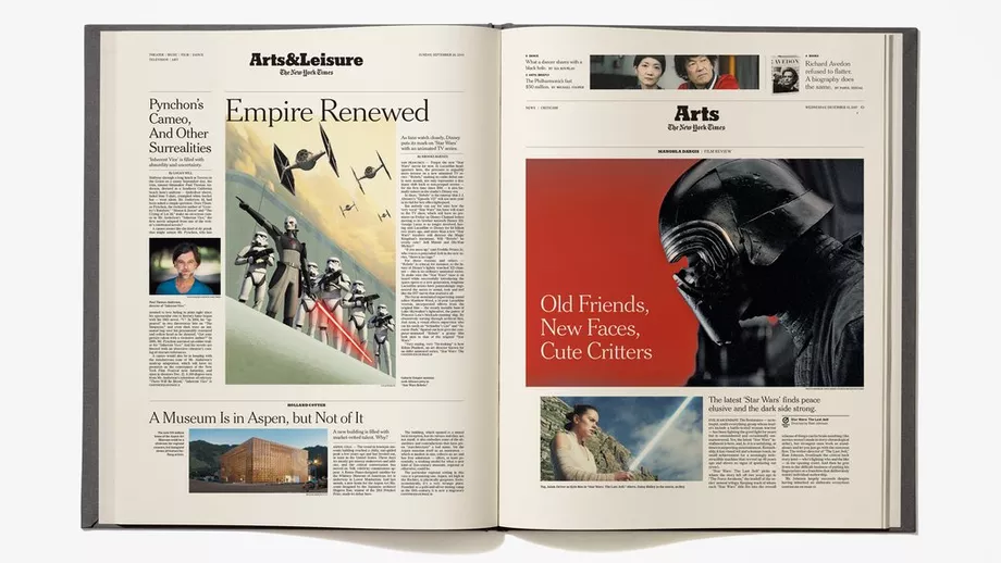 This Coffee Table Book Recounts The Whole History Of Star Wars Via New York Times Coverage