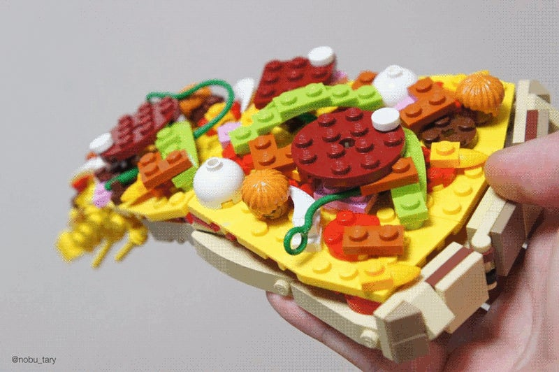 LEGO Turned into Delicious-Looking Food