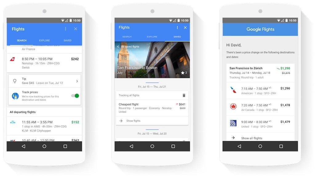 Google's New Mobile Updates Make It Even Easier To Find Travel Deals