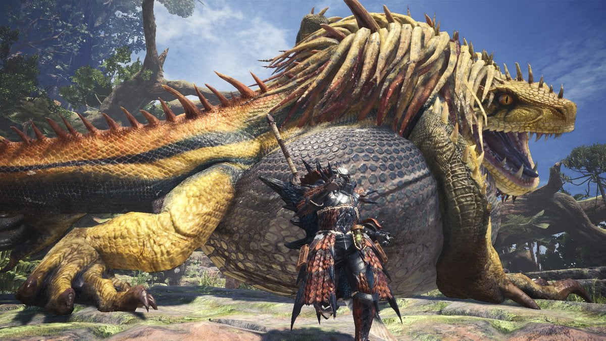 Monster Hunter: World's Special Event Monster Is Barfing Up Great Loot