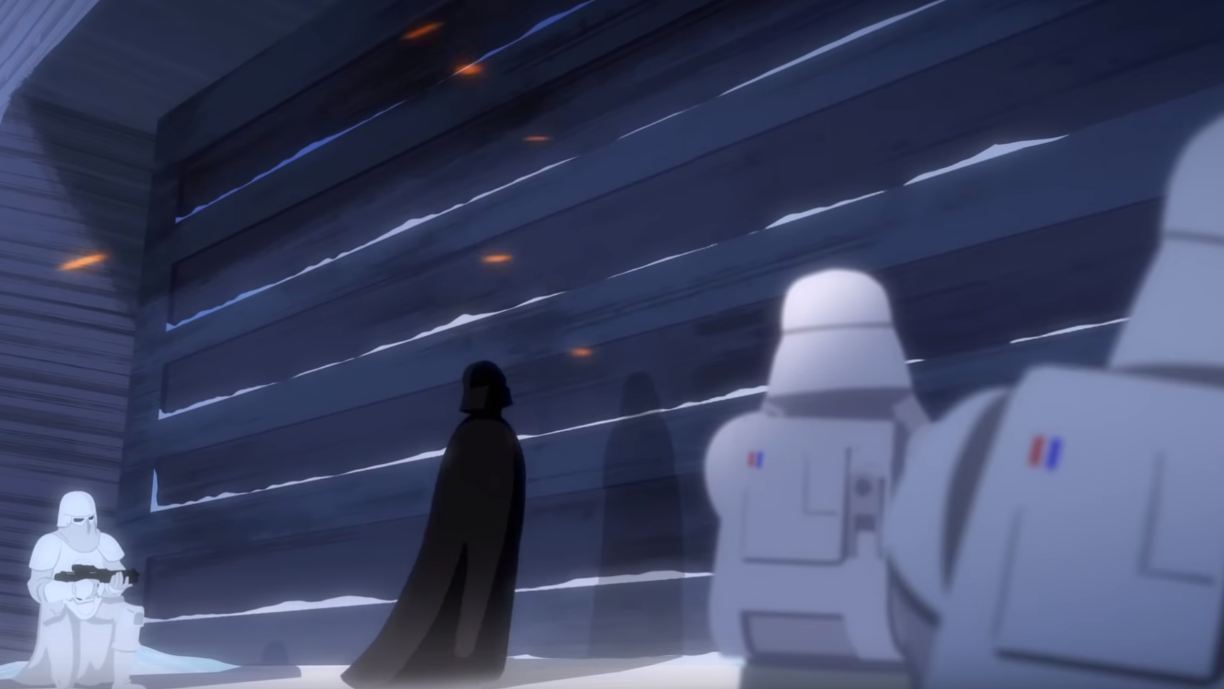This Star Wars Short Turns The Battle Of Hoth Into A Vader Rampage Worthy Of Rogue One
