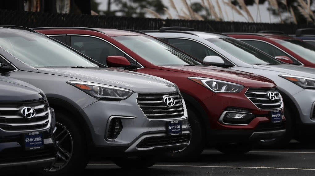 Hyundai Didn't Stop Making Cars And Now U.S. Ports Are Full Of Them