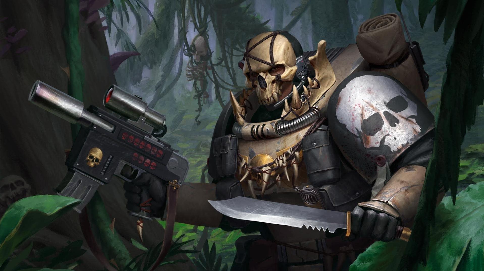 Warhammer 40K: Bone Marine