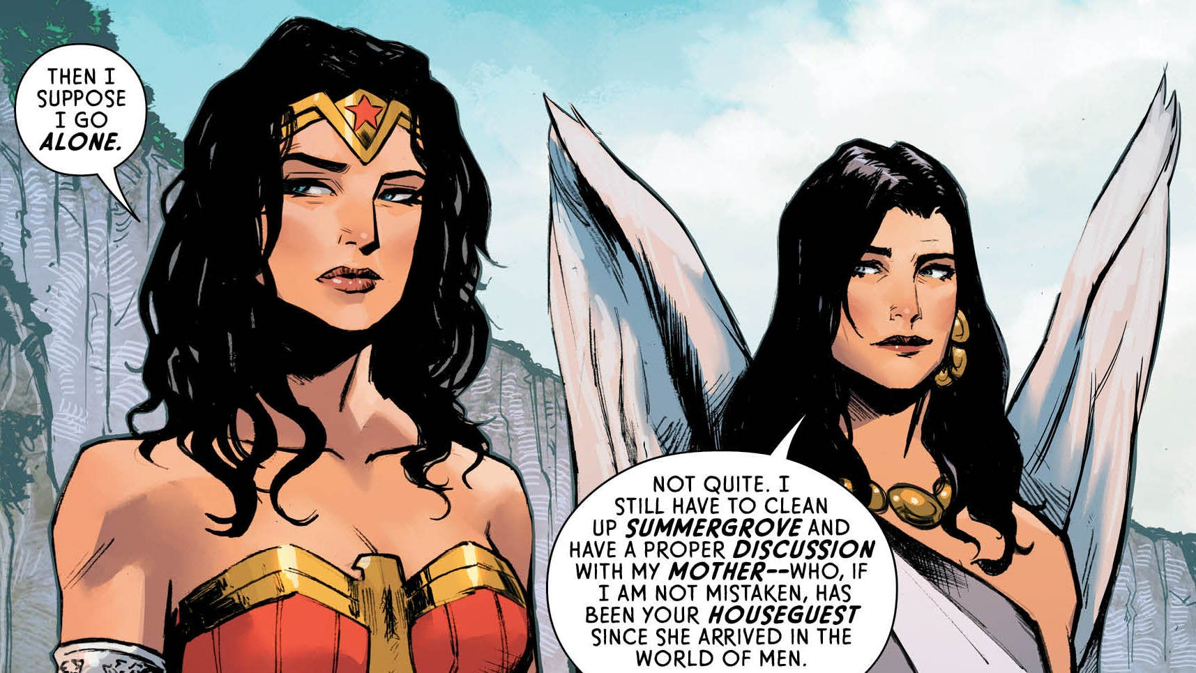 The Bridge Between Themyscira And The World Of Men Is Back In This Wonder Woman Preview