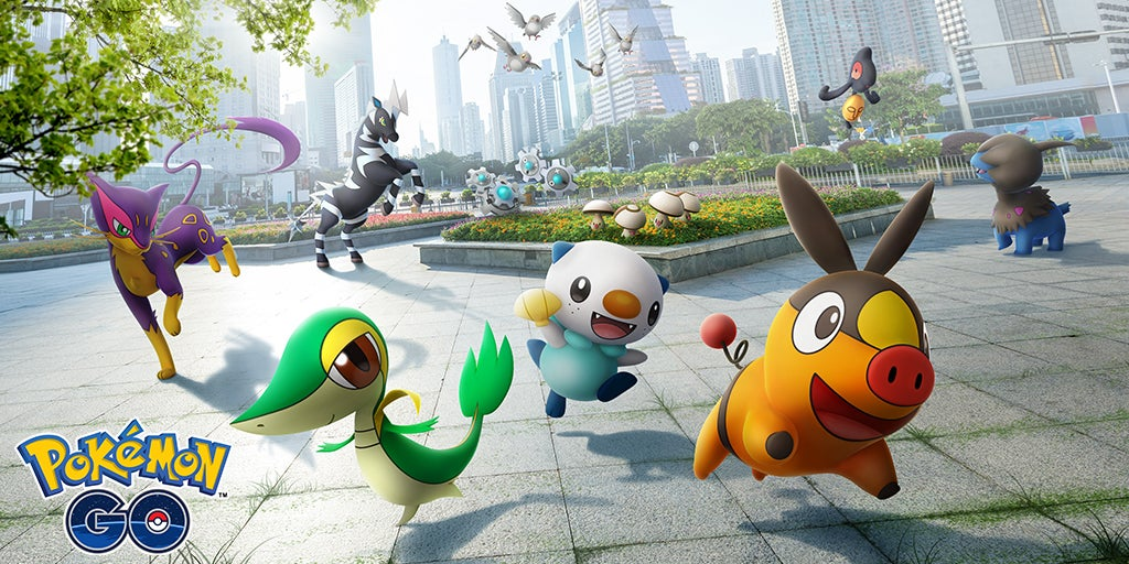 Pokémon Go's Pokédex Expands Into The Unova Region
