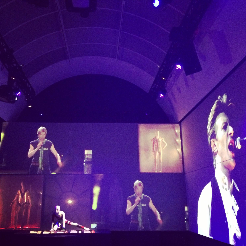 The Souped Up Acoustics Behind a Giant David Bowie Retrospective