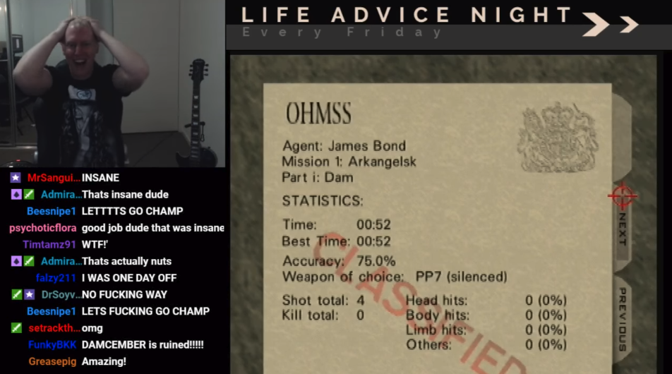 Gamer breaks 15-year-old 'GoldenEye 007' speedrunning record