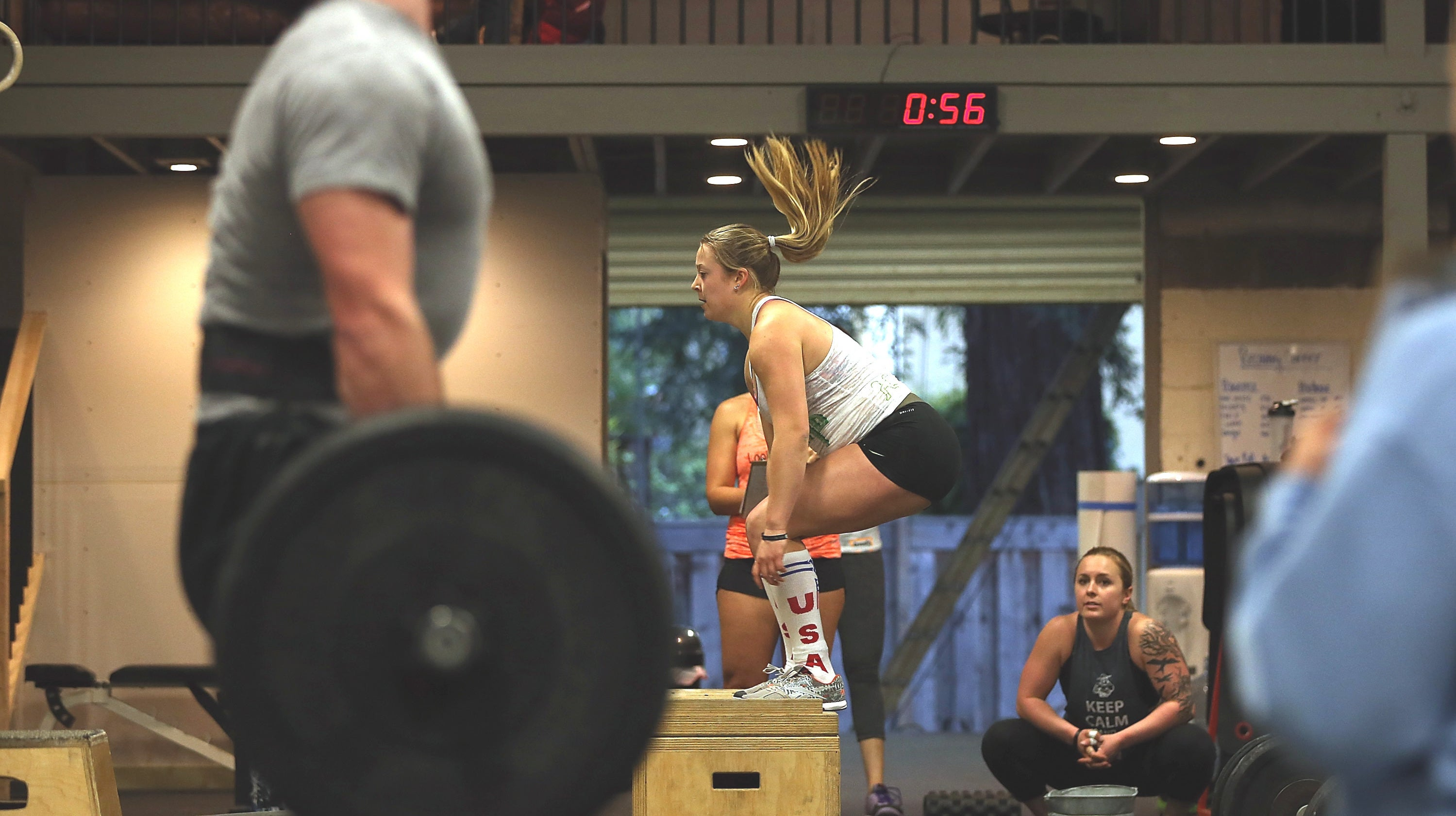 How To Do Box Jumps Without Freaking Out