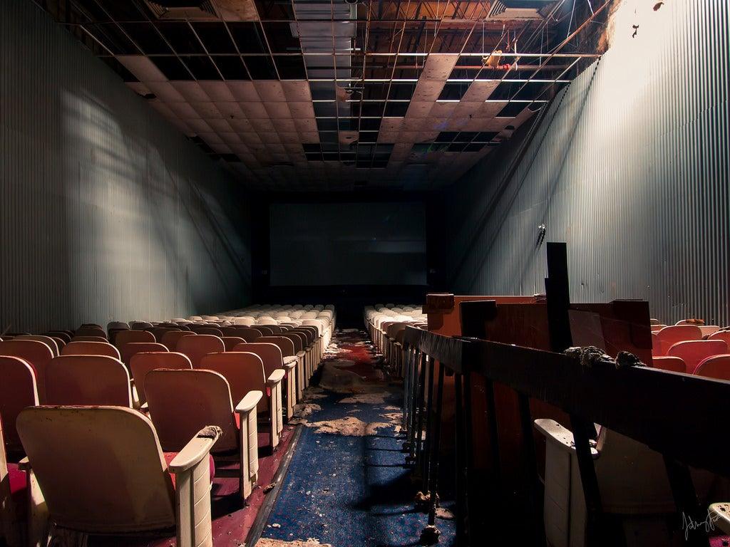 Abandoned Malls Look Like Sad, Empty Video Games