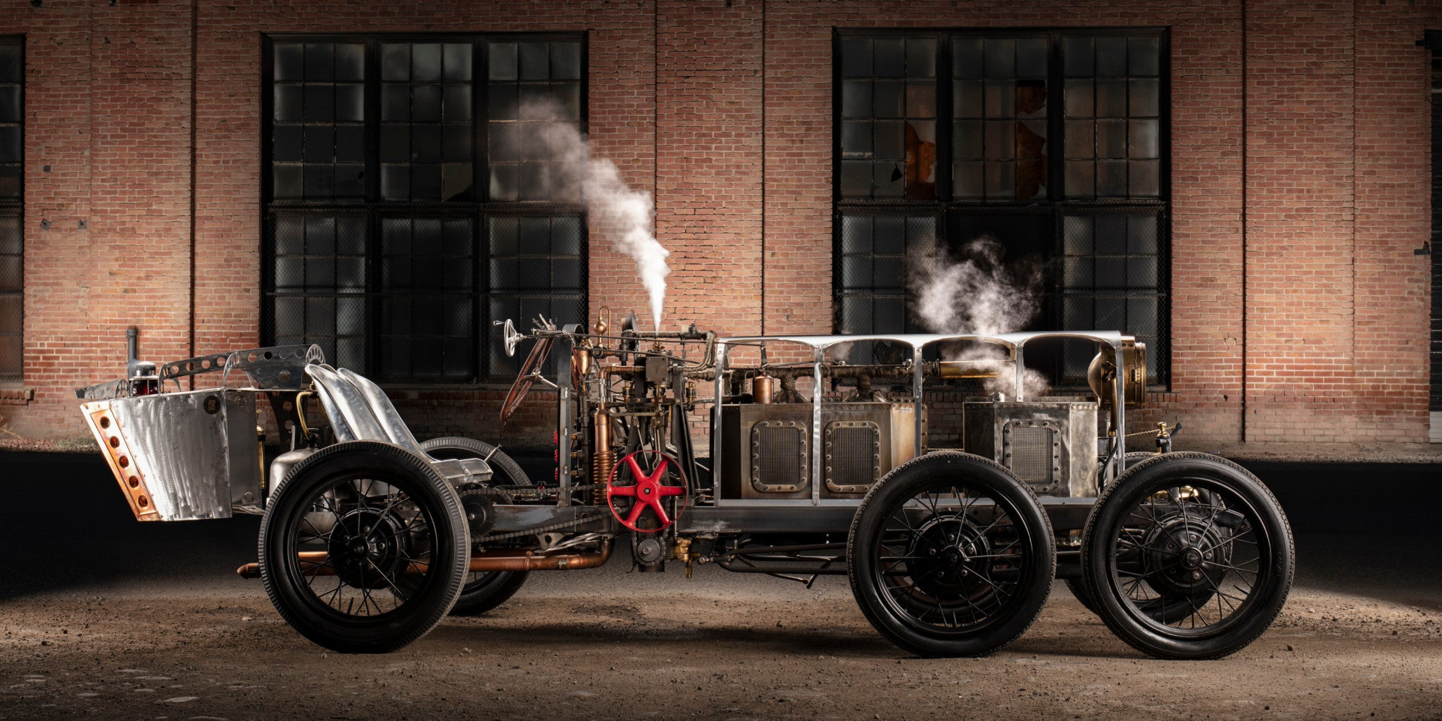 This Steam-Powered Roadster Will Make You Rethink Your Alternative Energy Strategy