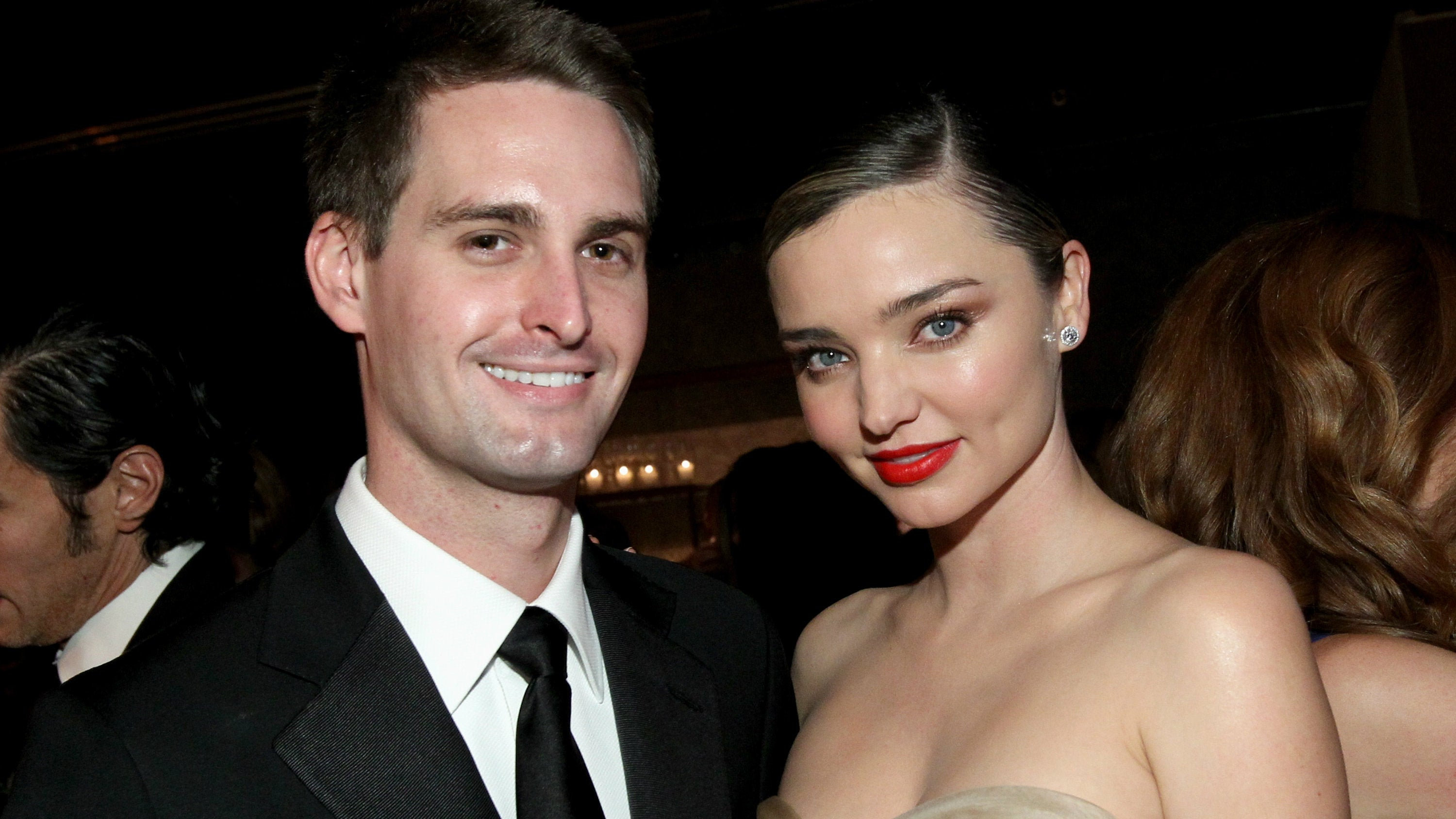 Snap CEO's Supermodel Fiancée Is Sick Of Facebook Stealing Her Man's Ideas