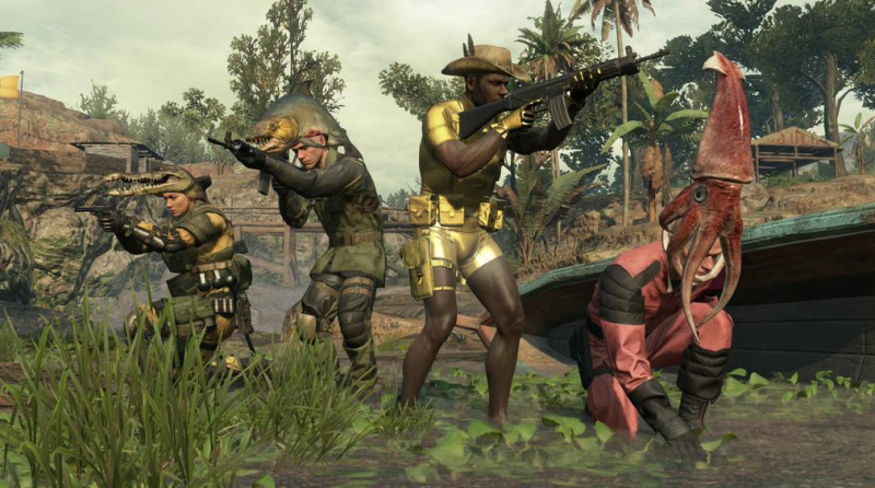 Metal Gear Online Launches Today