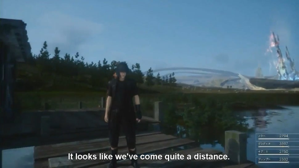 The Latest Final Fantasy XV Video -- Now in English
