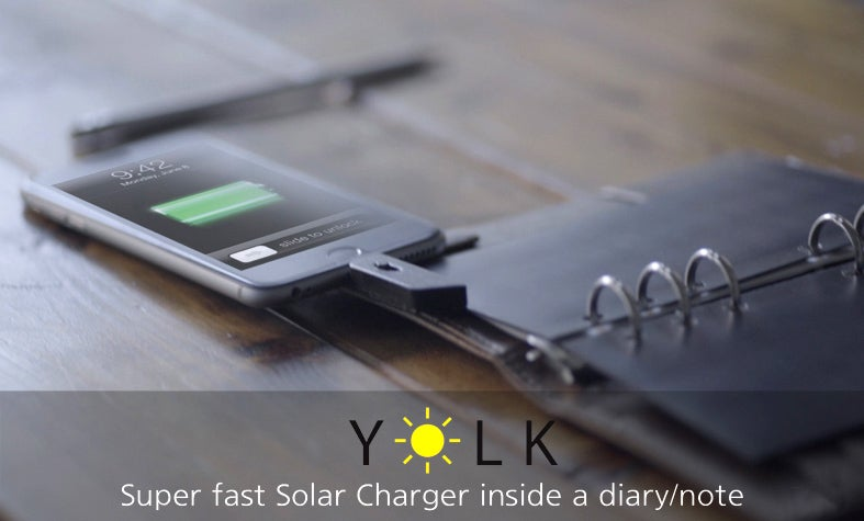 Dust Off That Day Planner For These Compact Solar Charging Panels