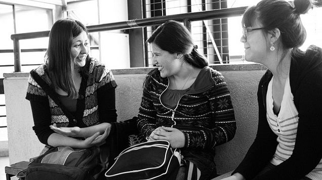 A Shy Person's Guide to Making Yourself Heard In a Group Conversation