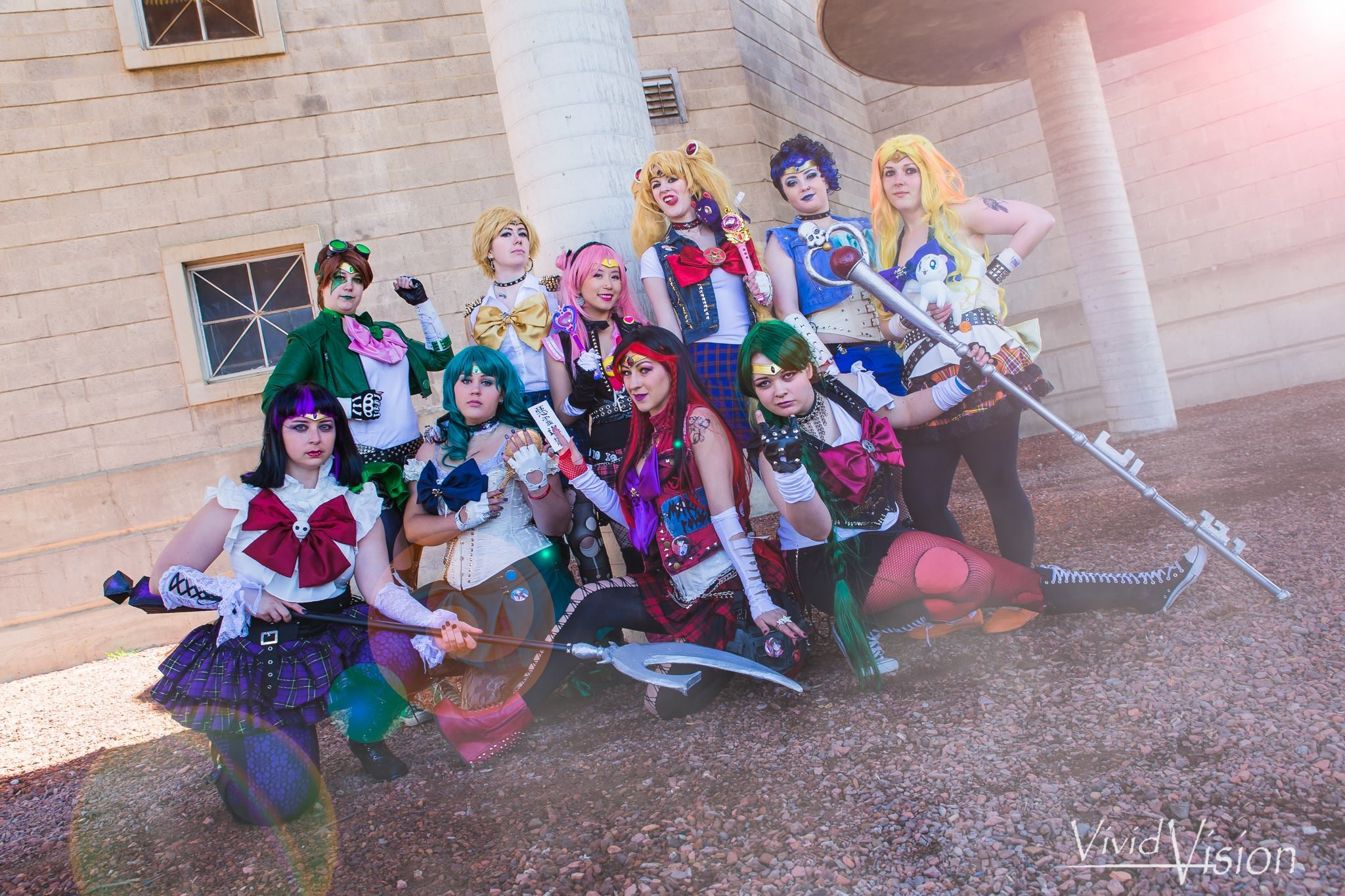Punk Sailor Moon Scouts Could Probably Kick Your Arse