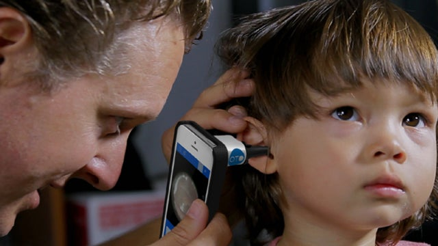Smartphone Cameras Could Help Diagnose Ear Infections Right at Home