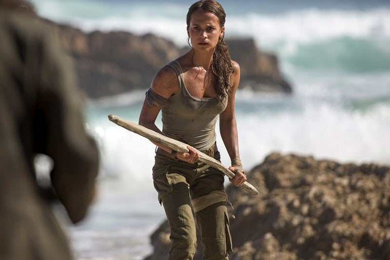 Here's The First Look At Hollywood's New Version Of Tomb Raider Heroine Lara Croft