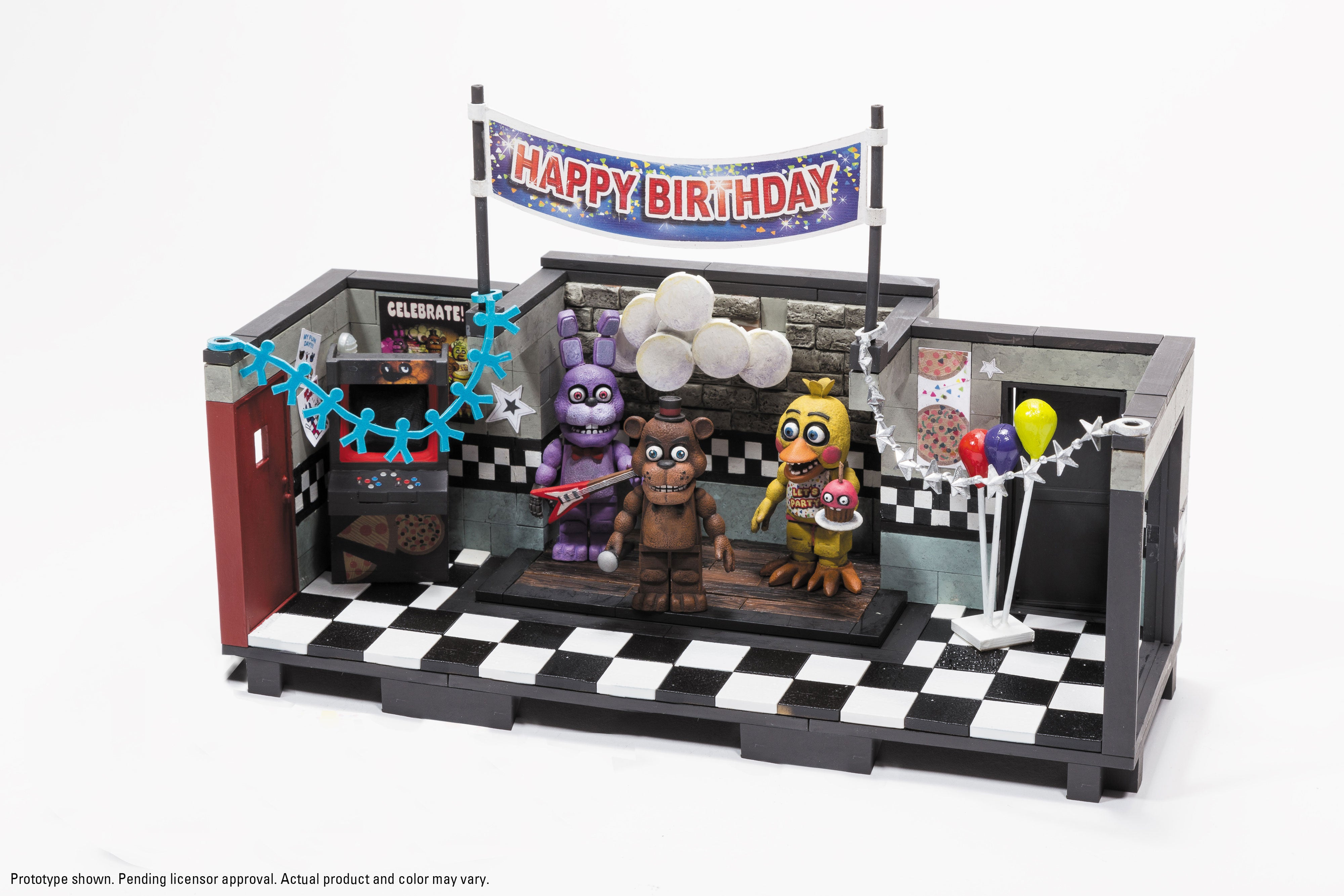 Five Nights At Freddy's Building Sets Coming From Exactly The Right Toy Company