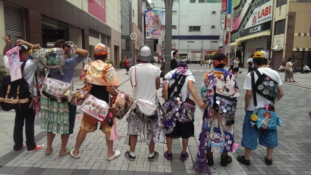 Behold, Hardcore Anime Fashion