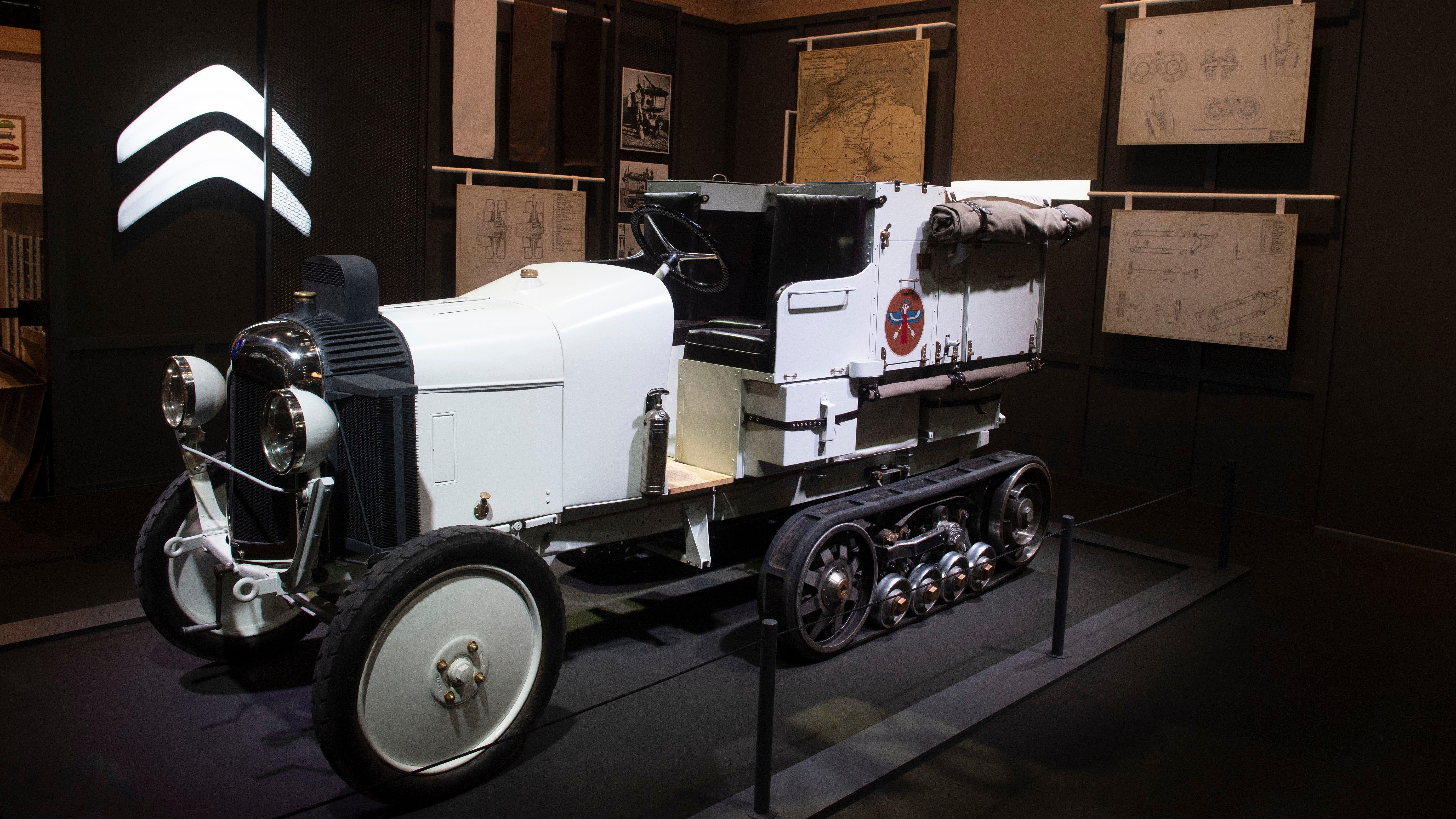 Citroën Recreated One Of Its Legendary Sahara-Crossing Half-Tracks From 1922
