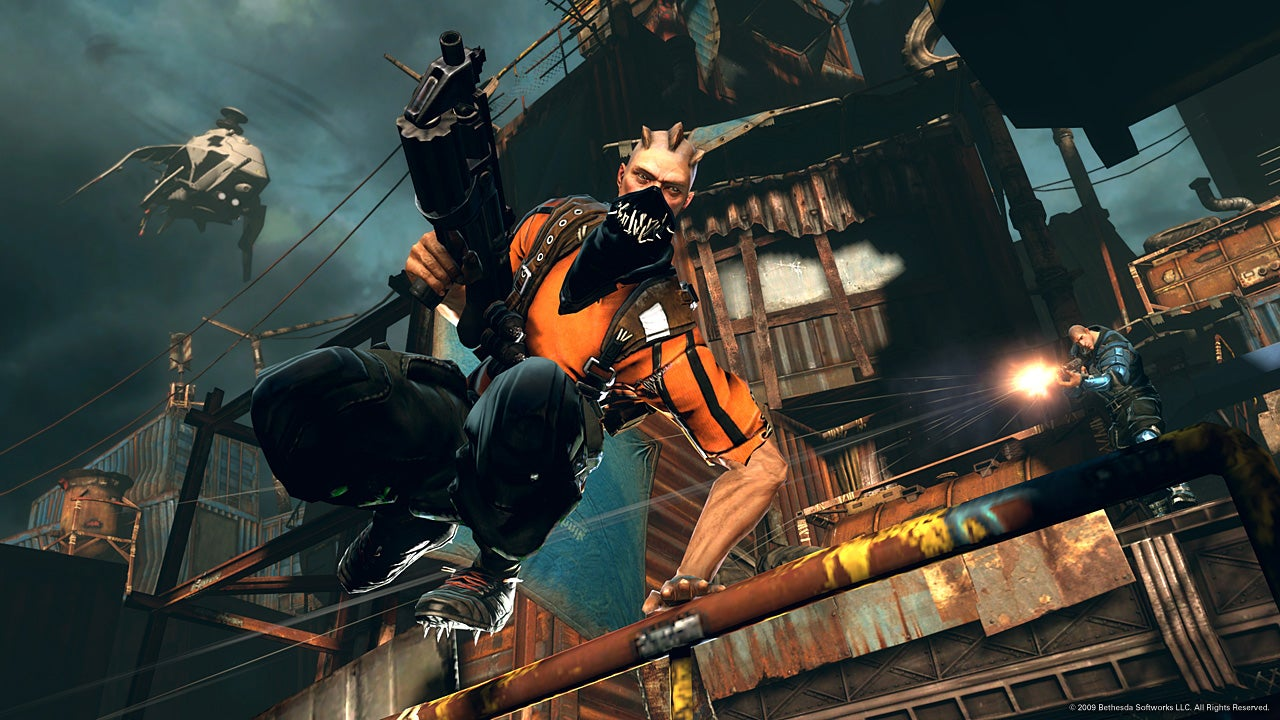 Six Years Later, Bethesda's Brink Is Suddenly Free-To-Play