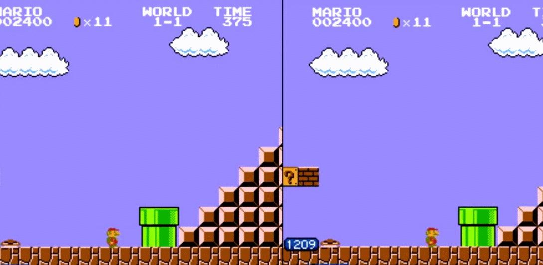 World Record For Super Mario Bros. Broken By A Single Frame