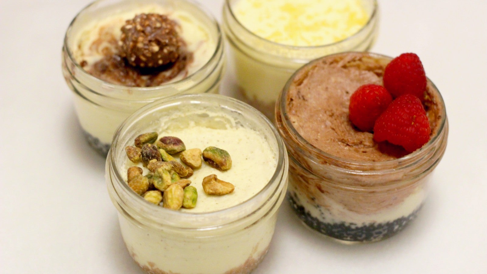 Make A Four-Flavour Cheesecake Sampler In Your Pressure Cooker